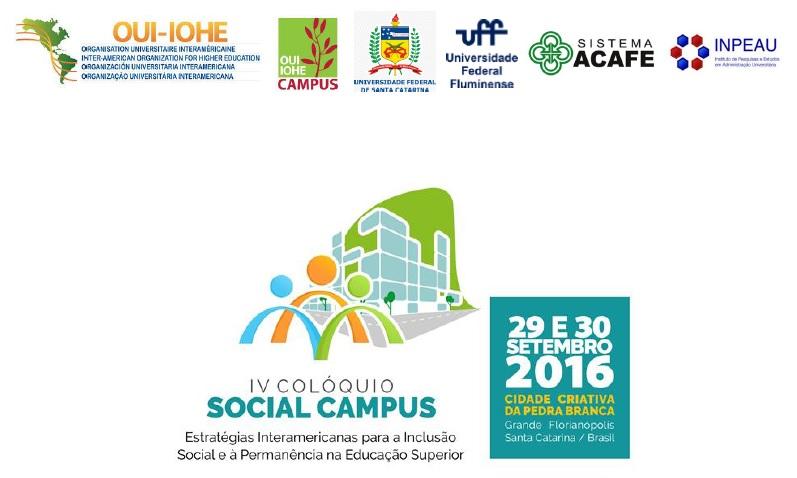 IV Colóquio Social Campus